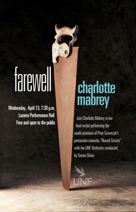 major poster charlotte farewell